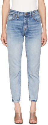 R 13 Blue Milf Jeans