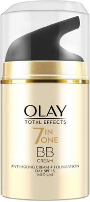 Olay Total Effects 7-in-1 Anti-ageing Day Cream With A Touch Of Foundation Spf15, 50g by