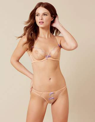 Agent Provocateur Lorna Ouvert Nude and Lilac