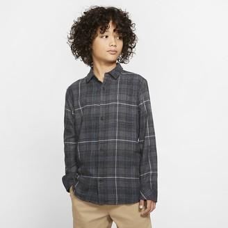 Nike Boys' Long-Sleeve Shirt Hurley Vedder Washed