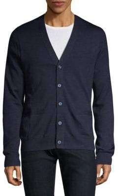 Michael Kors Textured Merino Wool Cardigan