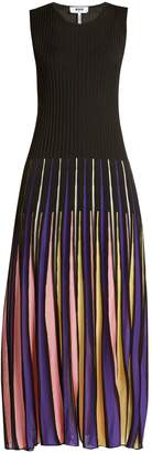 MSGM Pleated knit dress