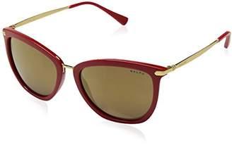 Ralph Lauren Ralph by Women's 0ra5245 Non-Polarized Iridium Cateye Sunglasses