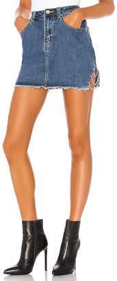 superdown Melissa Slit Mini Skirt.