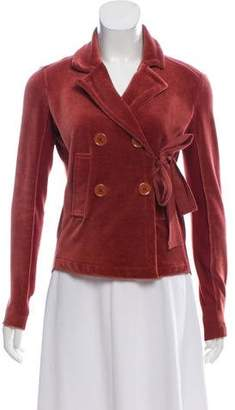 Sonia Rykiel Wrap Collared Jacket