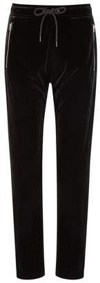 Rag & Bone Black Velour Sweatpants