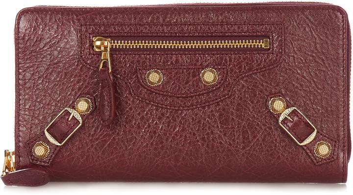 Balenciaga BALENCIAGA Giant Continental leather zip wallet