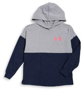 Under Armour Girl's Finale Colorblocked Hoodie