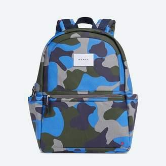 State Bags Kane Backpack Coated Camo Blue