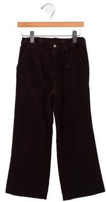 Marie Chantal Girls' Velvet Pants