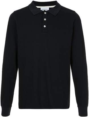 Norse Projects Theis Pique longsleeved polo shirt