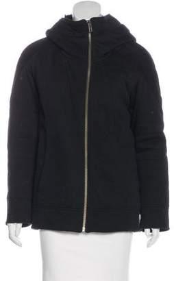 Helmut Lang Fur-Lined Zip-Up Jacket