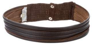 Valentino Leather Waist Belt