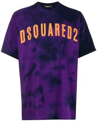 DSQUARED2 tie dye logo print T-shirt