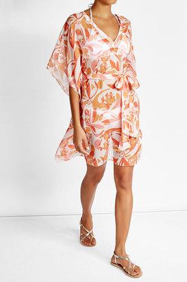 Heidi Klein Printed Silk Dress $359 thestylecure.com