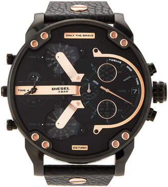 Diesel DZ7350 Black Mr. Daddy 2.0 Chronograph Watch