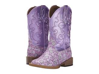 Roper Lavender Square Toe Boot (Toddler/Little Kid)