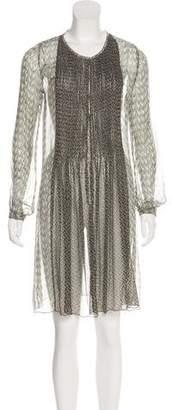Antik Batik Silk Embellished Dress