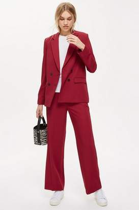 Topshop Womens Slouch Suit Blazer