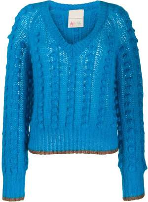 Marco De Vincenzo chunky bobble knit jumper