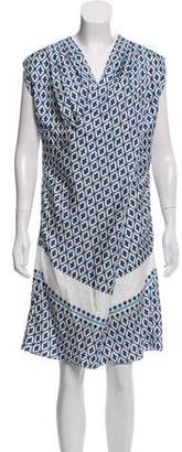 Derek Lam Printed Silk Dress w/ Tags