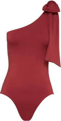Bondi Born Clementine Cold-Shoulder Swimsuit Size: 8