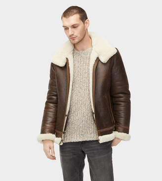 UGG Auden Shearling Aviator Jacket