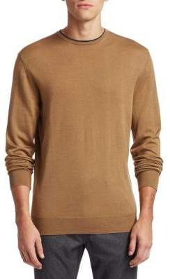 Saks Fifth Avenue COLLECTION Wool& Silk Sweater