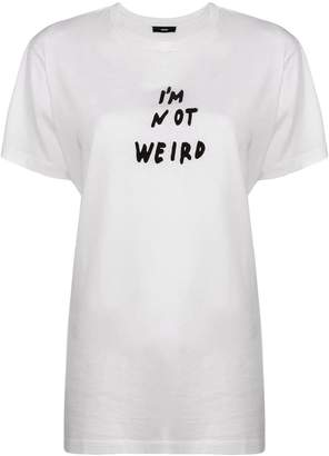 Diesel I'm Not Weird T-shirt