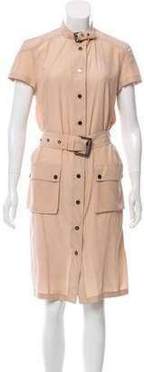 Belstaff Silk Midi Dress