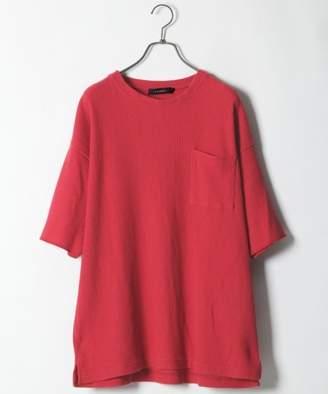 RAGEBLUE (レイジブルー) - 加工BIGワッフルTシャツ