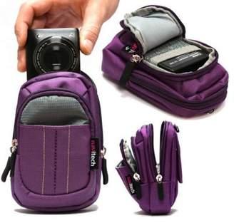 Sony Navitech Purple Digital Camera Case Bag For The Dsc-Rx100 Dsc-Rx100M5