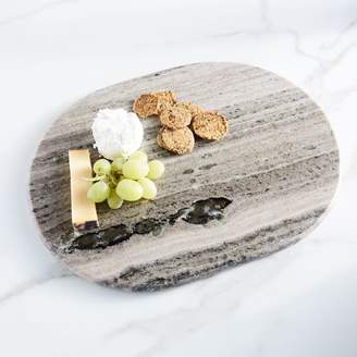 west elm Gray Marble Cheese Board