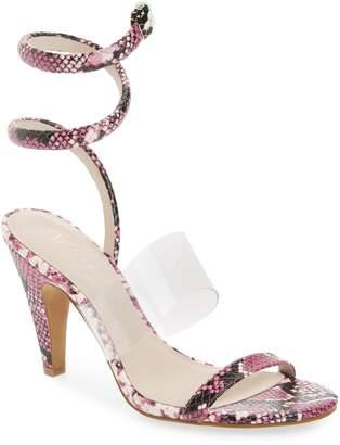 Sabrina Cecelia New York Ankle Wrap Sandal
