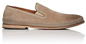 John Varvatos Men's Amalfi Suede & Leather Venetian Loafers - Lt. brown