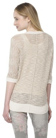 Mossimo Open Cardigan Peach