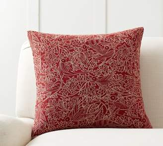 Pottery Barn Marisol Embroidered Pillow Cover