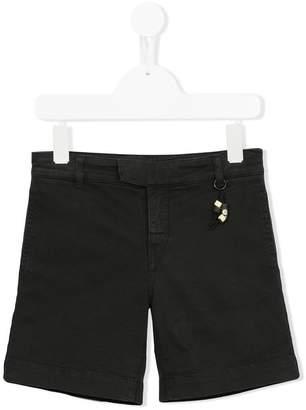 Douuod Kids bead detail denim shorts