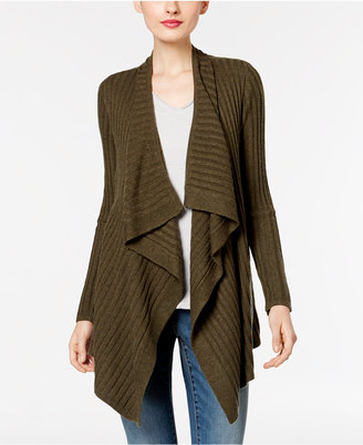 INC International Concepts Draped Cardigan, Only at Macy's $79.50 thestylecure.com