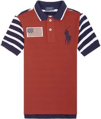 Polo Ralph Lauren Striped Big Polo Pony Polo Shirt