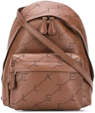 Stella McCartney logo mini backpack