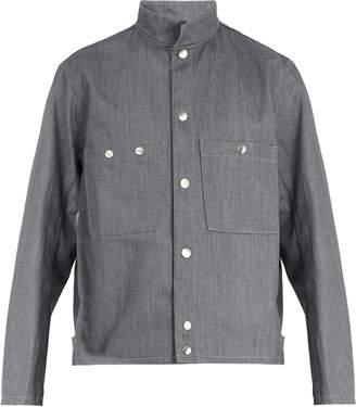 Lemaire Patch-pocket denim jacket