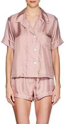Araks Women's Shelby Silk Pajama Top - Pink