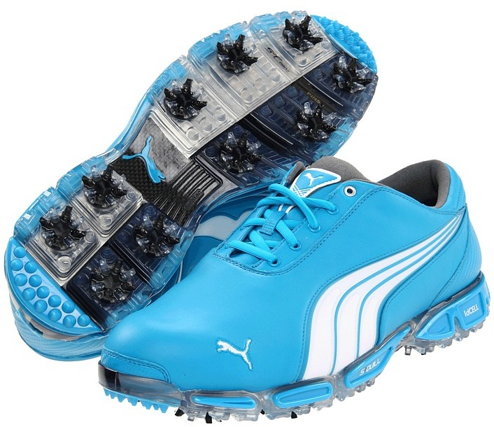 Puma Super Cell Fusion Ice LE (Vivid Blue/White) - Footwear