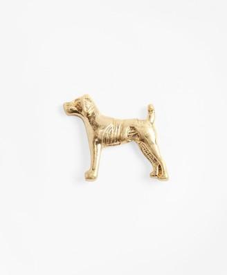 Brooks Brothers Dog Lapel Pin