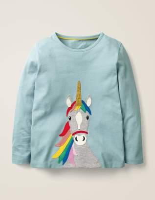 Unicorn Applique T-Shirt