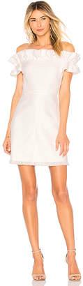 Rebecca Taylor Off Shoulder Slub Dress