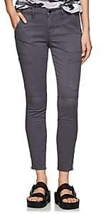 J Brand Women's Cotton-Blend Skinny Pants - Gray