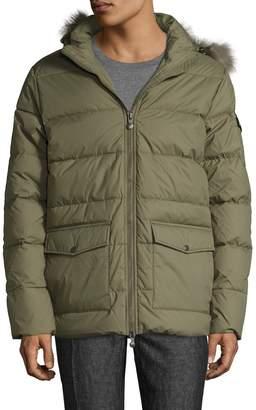 Pyrenex Men's Authentic Matte Jacket with Fur