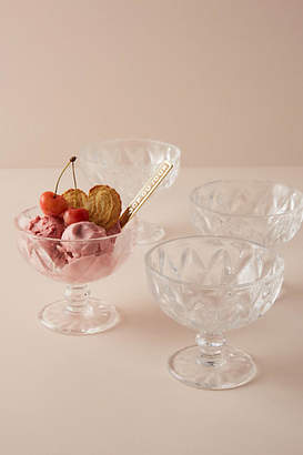 Anthropologie Pedestal Dessert Bowl Set